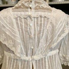 画像8: ヴァランシエンヌレースのチャイルドドレス (8)