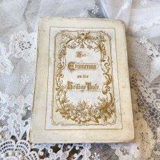 画像3: 勿忘草と天使の柄 洗礼セルロイドカード  BOX付き (3)