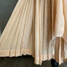 画像6: サーモンピンクプリーツキッズドレス (6)