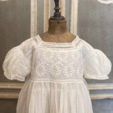 画像6: ホワイトチュール ベビードレス (6)