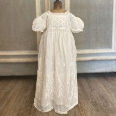 画像2: ホワイトチュール ベビードレス (2)