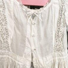 画像6: ホワイトカットワークレースのBaptême洗礼服 (6)