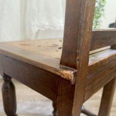 画像8: 木製ドール用チェア (8)