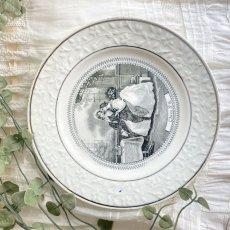 画像2: ショワジールロワ グリザイユプレート 天国 (2)