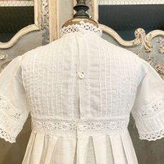 画像5: 機械刺繍のヴィンテージ洗礼ドレス  (5)