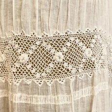 画像3: アイリッシュクロッシェレースのチャイルドドレス (3)