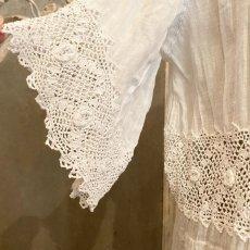 画像5: アイリッシュクロッシェレースのチャイルドドレス (5)