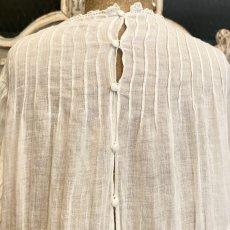 画像7: アイリッシュクロッシェレースのチャイルドドレス (7)
