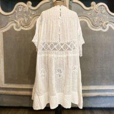 画像2: アイリッシュクロッシェレースのチャイルドドレス (2)