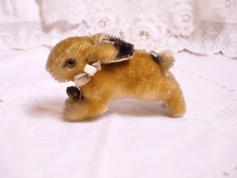 画像1: シュタイフ社ウサギのぬいぐるみ (1)