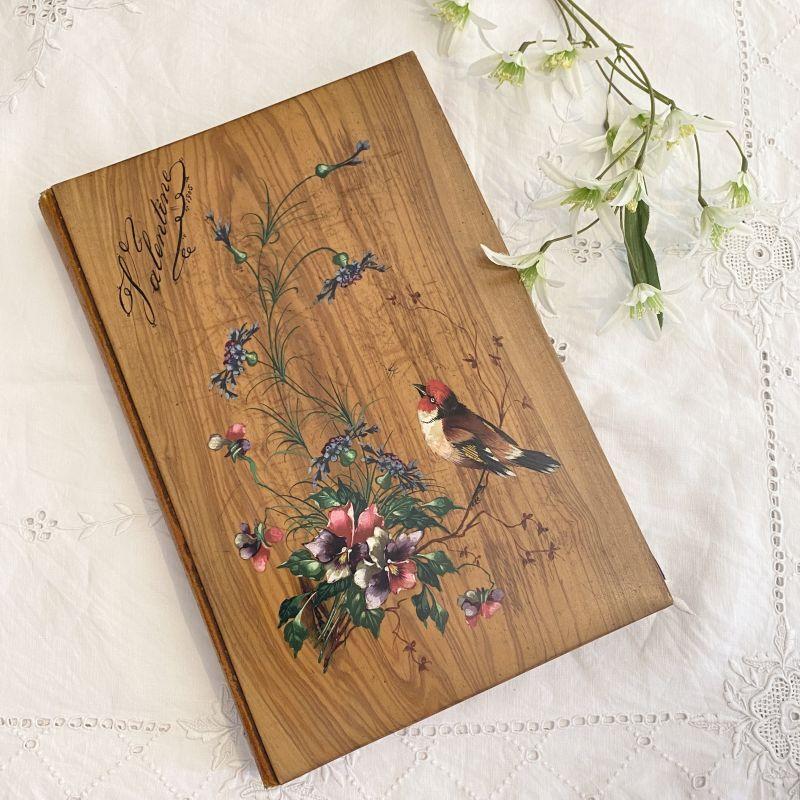 画像1: モシュリンヌ  小鳥とお花のレターケース (1)